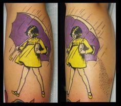 Morton salt tattoo