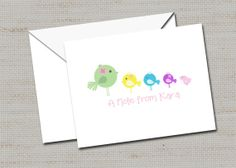 Personalized Note Cards Mother's Day gift Stationery by lovebabble, $25.00