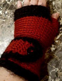 Santa Baby fingerless gloves