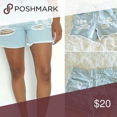 Ripped Shorts Ripped shorts Shorts