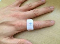 Dhani Sutanto converts his London transport Oyster Card into an enamel ring. The shape of the future to come!