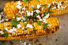 Grilled Corn with Bacon Butter and Cotija Cheese French Coconut Pie, Shucking Corn, Bacon And Butter, How To Cook Corn, Cotija Cheese, Side Dishes For Bbq, Ears Of Corn, Candied Pecans, Corn Recipes