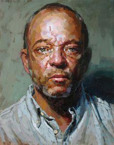 Laurent Dauptain, autoportrait