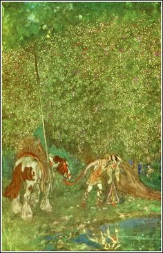 Willy Pogany ~ Parsifal ~ 1912 edition