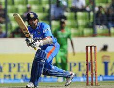 The Master Blaster Sachin Tendulkar on the day of Scoring his 100th International Ton