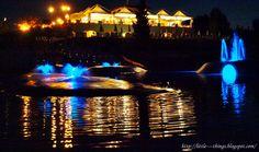 little----things.blogspot.com Norcenni Girasole Club Figline Valdarno Tuscany by night