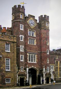 St. James Palace. London, ENGLAND   (Flickr - Photo Sharing!  London)