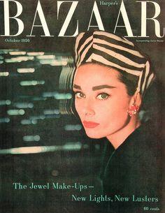 Harper's Bazaar Cover October (1956)