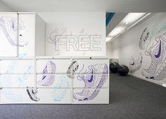 nike UK headquarters re-design by rosie lee - designboom   architecture & design magazine