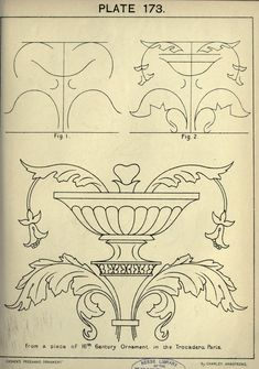 Cusack's freehand ornament. A text book with ch...