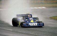 Patrick Depailler, ELF Tyrrell-Ford P34, 1976 Japanese Grand Prix, Fuji Speedway