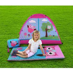 Tent Kids C&ing Combo with Carry Bag Outdoor C&ing Backyard  sc 1 st  Pinterest & GigaTent Princess Cruiser Play Tent - Walmart.com | camping ...