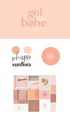 Pink, fun, playful, feminine, cute, whimsical, bright, branding #sisterhoodstudio