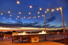 Patio String Lights Design Ideas, Pictures, Remodel, and Decor - page 5