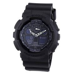#Casio #Men's GA100-1A1 #Black  Full review on: http://toptenmusthave.com/best-mens-watches/