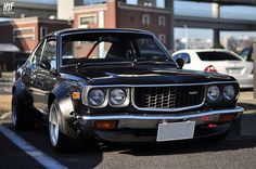 1974/75 Mazda RX 2/3 Rotary Engine. Very fast. I had one of these in 1980