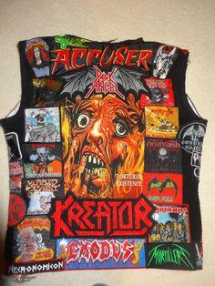 Maid of Metal's Demolition Hammer, Accu§er, Dark Angel, 2015 New Battle Jacket Battle Jacket | TShirtSlayer
