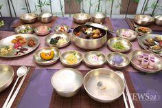 Korean dining table setting!