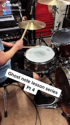 How To Play Drums: the 4th in an 18 part lesson series focused on developing ghost notes.