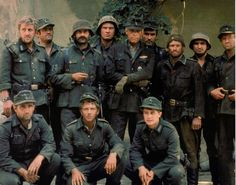 Cross of Iron (1977) James Coburn stars as Unteroffizier Feldwebel Rolf Steiner