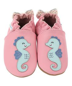 Look at this #zulilyfind! Pink Sally Seahorse Leather Booties #zulilyfinds