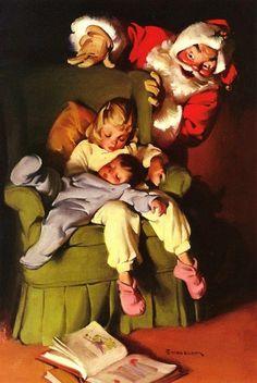 One of the Hallmark Haddon Sundblome Santas