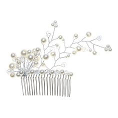 Gorgeous Alloy With Imitation Pearl Women's Hair Combs - USD $ 19.19 Really like this one