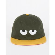 Don't Hug Me I'm Scared for Lazy Oaf Duck Cap ($97) ❤ liked on Polyvore featuring accessories, hats, bee hat, embroidery hats, 6 panel hat, embroidered hats and lazy oaf