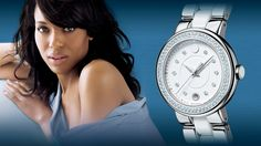 Movado ambassador Kerry Washington - Acclaimed actor and arts advocate currently… Movado Watches, Design Movements, Victorinox Swiss Army, Kerry Washington, Citizen Eco, Professional Dresses, Gold Dots, Brand Ambassador, American Artists
