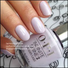 Lavendurable | OPI Infinite Shine Summer 2015