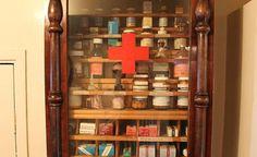 Limpe e organize seu armário de remédios
