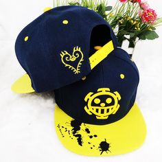Novelty & Special Use Collection Here Anime One Piece Monkey D Luffy Cotton Printing Sun Hat Luminous Hat Baseball Cap Unisex Accessories Cosplay Hip-hop Fashion