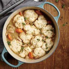 Chicken Stew and Dumplings | MyRecipes.com