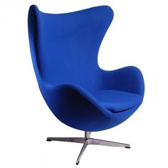 funky furniture | arne jacobson style modern cashmere egg chair
