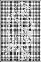 eagle crochet afghan pattern Square Patterns, Afghan Crochet Patterns, Quilt Patterns, Unique Crochet, Free Crochet, Crochet Dollies, Fillet Crochet, Graph Design, Thread Crochet