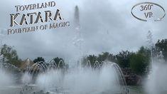 Toverland 2019 Katara - Fountain of Magic VR Onride Vr, Fountain, Magic, Water Fountains