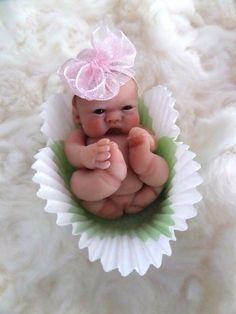 OoAk Mini Truffle Baby by *Bttrfly Creations* | Dolls & Bears, Dolls, Art Dolls-OOAK | eBay!