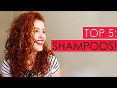 Os top 6 melhores shampoos para cabelos cacheados