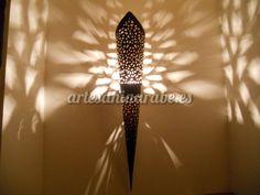 Antorcha de forja Marroquí | Artesanía árabe y decoración marroquí