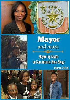 Mayor and Mom, Mayor Ivy Taylor: parks and play