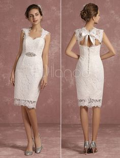 Wedding Party Dress Ivory Halter Short Lace Bridesmaid Dresses V Neck A-line Knee Length Vintage Reception Wedding Bridesmaid Party Gowns Custom Regular Tea Drinking Improves Your Health