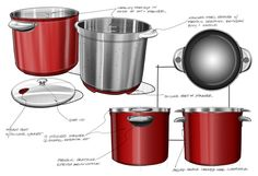 Mario Batali Pasta Cookware on Behance