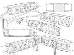 Rubbermaid FastTrack Power Strip by Mason Umholtz