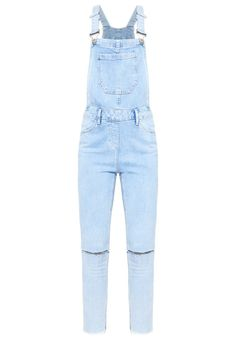 New Look Petite Latzhose light blue Bekleidung bei Zalando.de   Material Oberstoff: 98% Baumwolle, 2% Elasthan   Bekleidung jetzt versandkostenfrei bei Zalando.de bestellen!