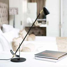 Stylish table lamp designed by Joakim Fihn from Belid. 12v Led, Desk Lamp, Table Lamp, Led Licht, 5 W, Lamp Design, Scandinavian Design, Floor Lamp, Flooring