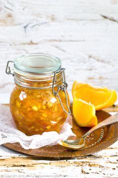 smażona skórka pomarańczowa, candied orange zest #pomarańcza #orange #Christmas