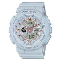 Casio Baby-G Resin Band BA-110GA-8A Blue Women s Watch G Shock 8f0a3af405