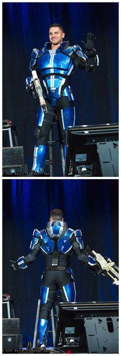 Kaidan Alenko (Mass Effect) Cosplay by Luciano Costa   PAX East 2014