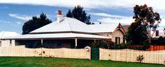 Milton NSW: old homestead (1990)