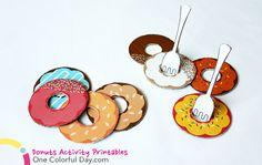 Donuts Activity Printables